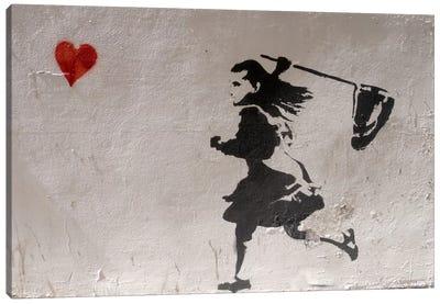 Love Catcher Canvas Print #11344