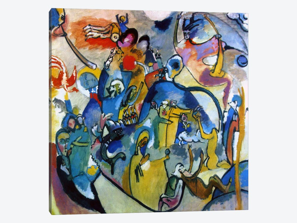 All Saints Day II by Wassily Kandinsky 1-piece Canvas Wall Art