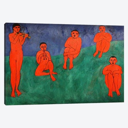 Music Canvas Print #11353} by Henri Matisse Art Print