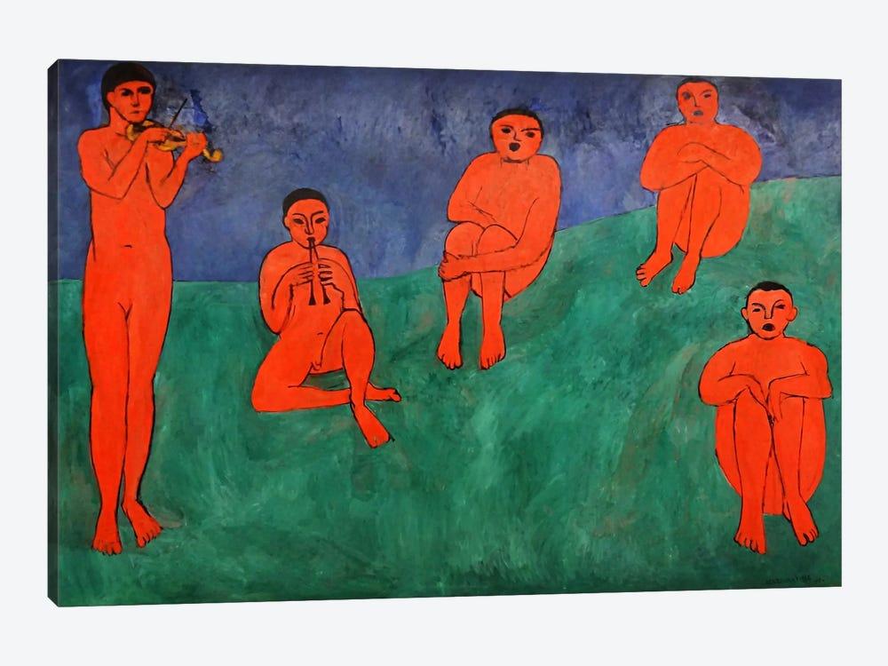 Music by Henri Matisse 1-piece Canvas Wall Art