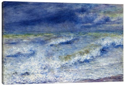 La vague 1879 Canvas Art Print