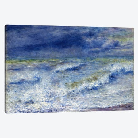 La vague 1879 Canvas Print #1137} by Pierre-Auguste Renoir Canvas Art Print