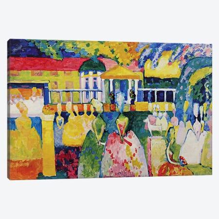 Crinolines Canvas Print #11386} by Wassily Kandinsky Canvas Art Print