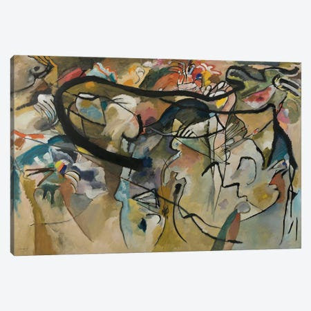 Composition V Canvas Print #11393} by Wassily Kandinsky Art Print