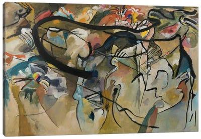 Composition V Canvas Art Print