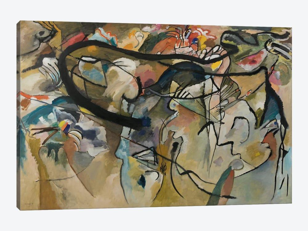 Composition V by Wassily Kandinsky 1-piece Canvas Art