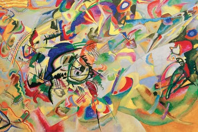 Composition VII Art Print by Wassily Kandinsky | iCanvas