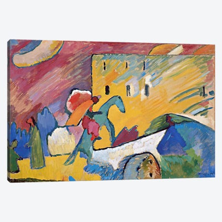 Improvisation 3 Canvas Print #11400} by Wassily Kandinsky Canvas Print