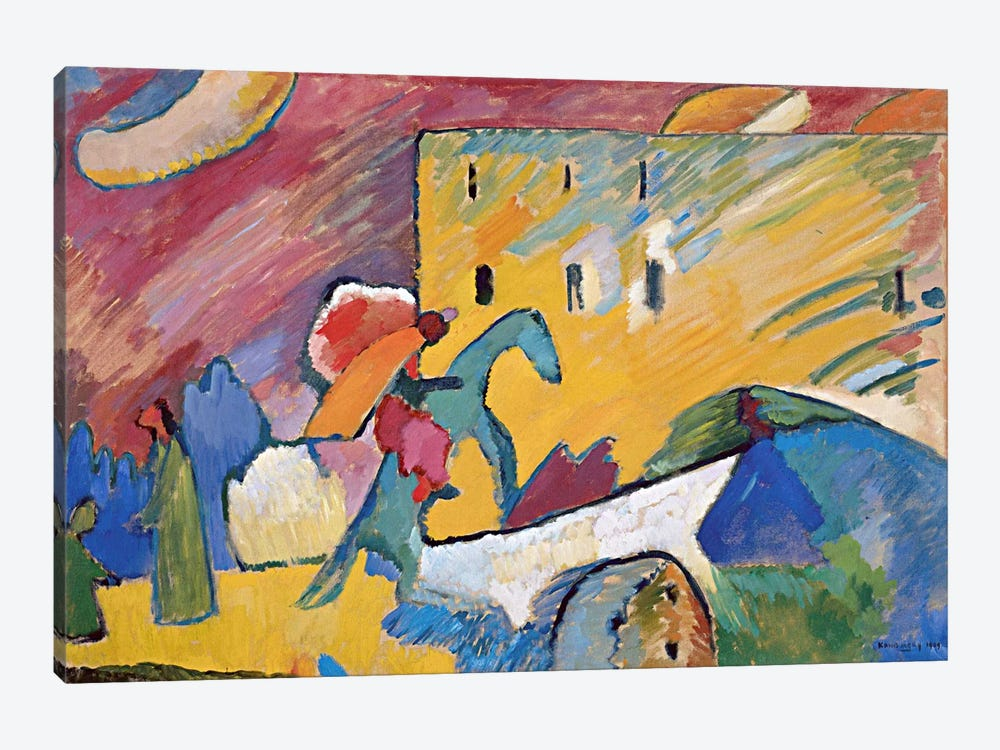 Improvisation 3 by Wassily Kandinsky 1-piece Canvas Art Print