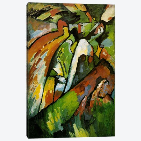 Improvisation 7 Canvas Print #11401} by Wassily Kandinsky Canvas Print