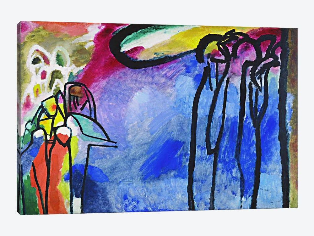 Improvisation 19 by Wassily Kandinsky 1-piece Art Print
