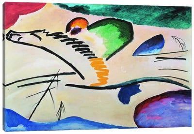 Lyrically (Lyrisches) Canvas Art Print