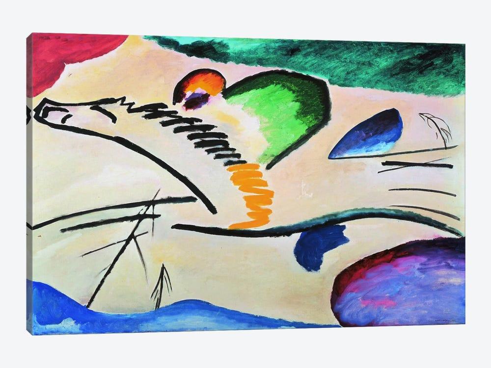 Lyrically Lyrisches Canvas Artwork By Wassily Kandinsky Icanvas
