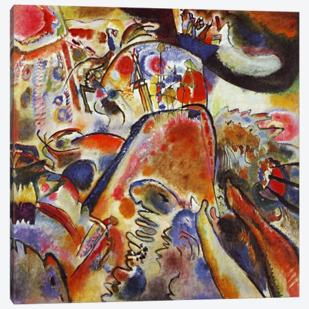 Small Pleasures Canvas Print #11415} by Wassily Kandinsky Canvas Print