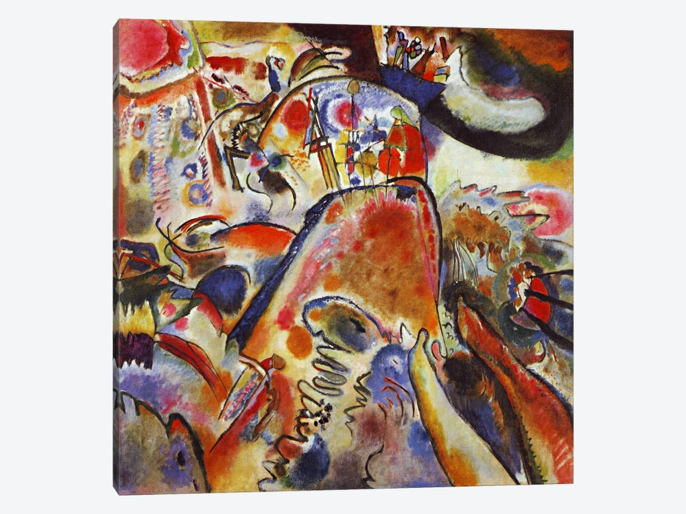 Small Pleasures by Wassily Kandinsky 1-piece Canvas Print