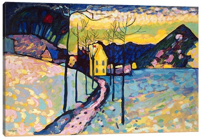 Winter Landscape by Wassily Kandinsky Art Print