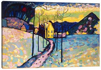 Winter Landscape Canvas Print #11423