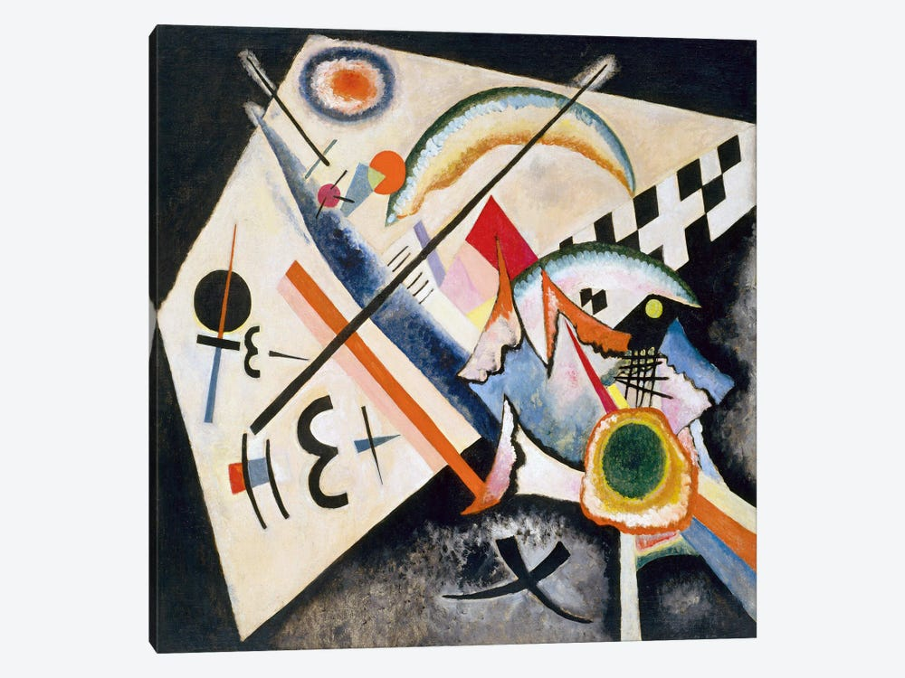 White Cross by Wassily Kandinsky 1-piece Canvas Print