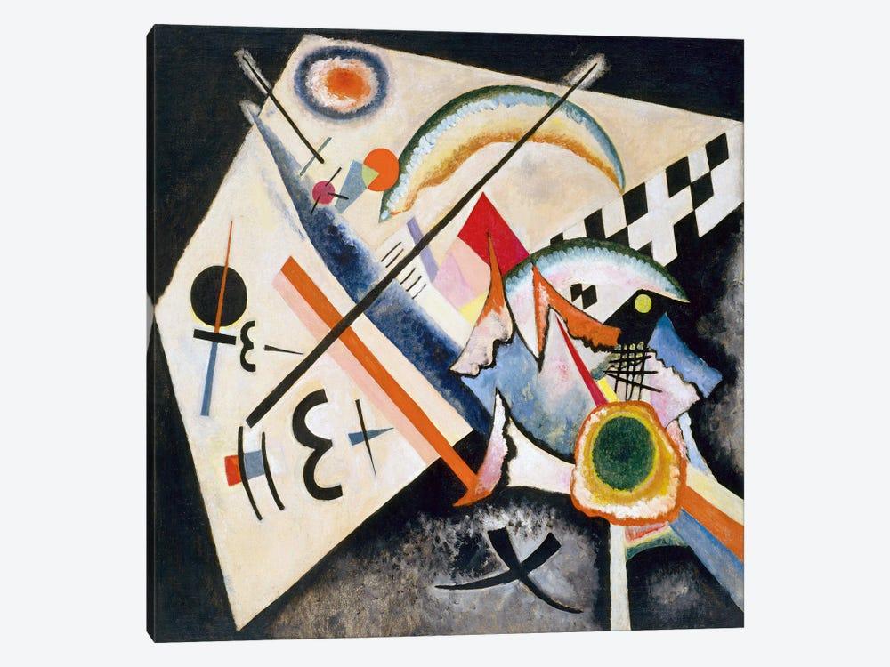 White Cross by Wassily Kandinsky 1-piece Canvas Print