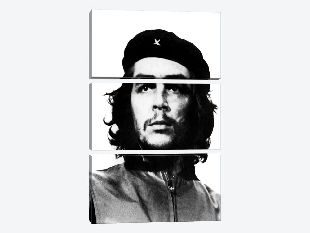 Che Guevara 3-piece Canvas Print