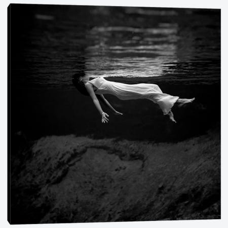 Woman In Water Canvas Print #11440} by Toni Frissell Art Print