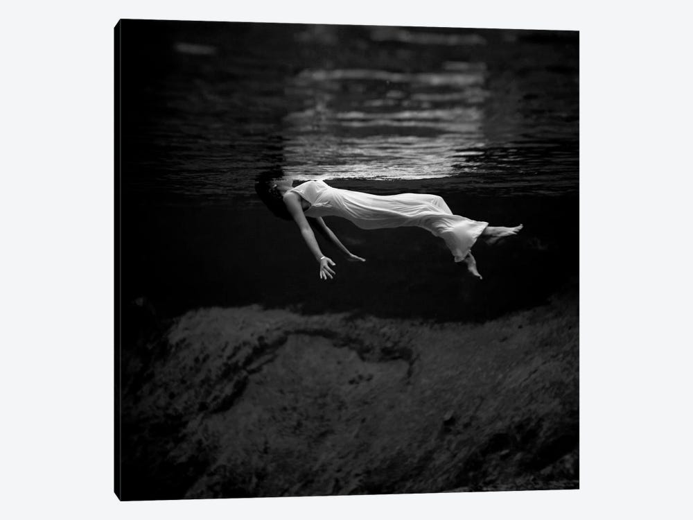 Woman In Water by Toni Frissell 1-piece Canvas Art Print