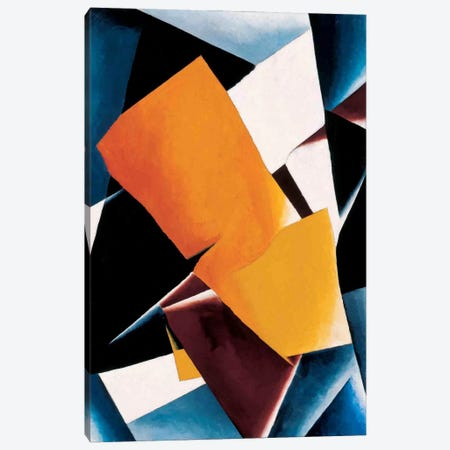 Painterly Architectonics Canvas Print #11444} by Lyubov Popova Canvas Artwork