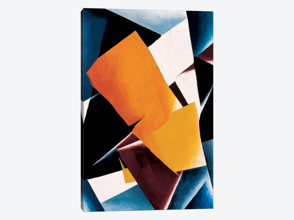 Painterly Architectonics by Lyubov Popova 1-piece Art Print