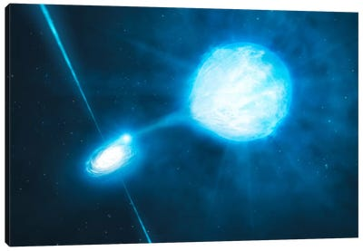 Stellar Mass Black Hole NGC 300 X-1 Canvas Print #11445