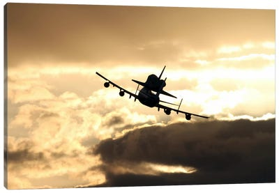 Discovery's Final Flight Canvas Art Print