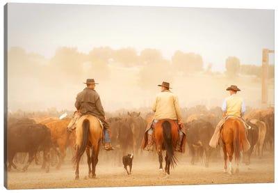 Cowboys Best Friend Canvas Print #11506