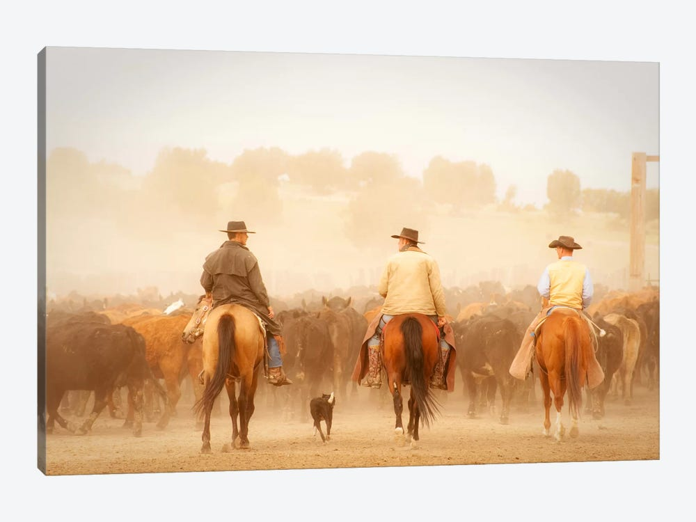Cowboys Best Friend by Dan Ballard 1-piece Canvas Art