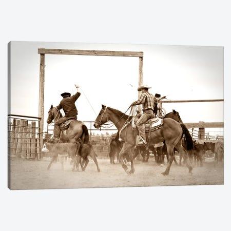 Red Top Ranch Canvas Print #11518} by Dan Ballard Art Print