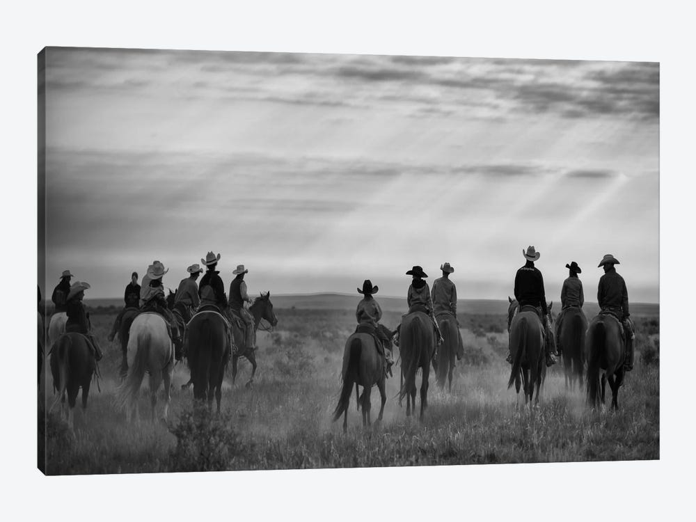 Riding Out by Dan Ballard 1-piece Canvas Wall Art