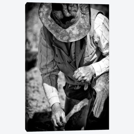 Cowboy & His Hat Canvas Print #11529} by Dan Ballard Canvas Wall Art