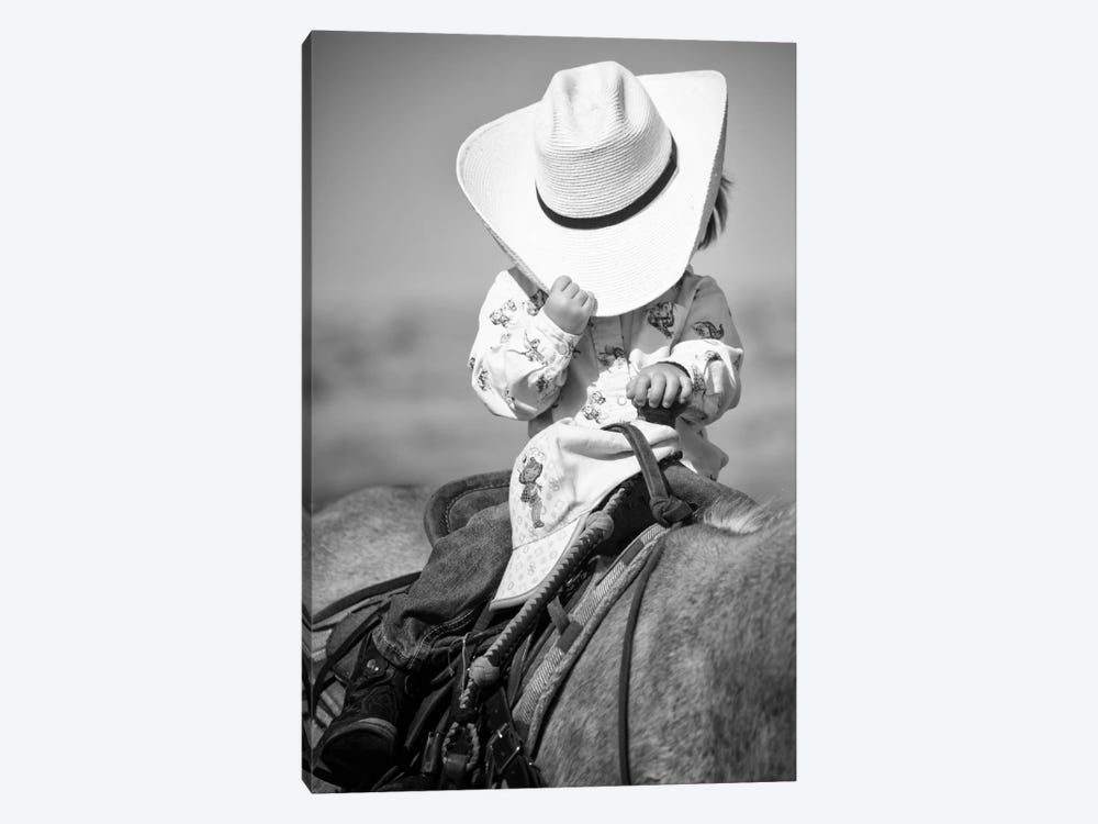 True Cowgirl by Dan Ballard 1-piece Art Print