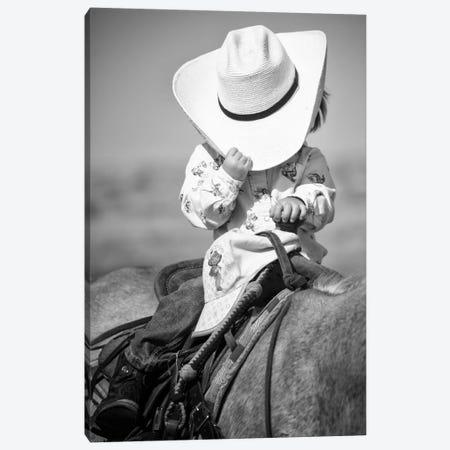 True Cowgirl Canvas Print #11532} by Dan Ballard Art Print