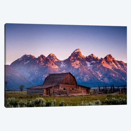 Coming Sun Canvas Print #11535} by Dan Ballard Canvas Art