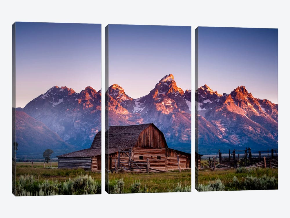 Coming Sun 3-piece Canvas Wall Art