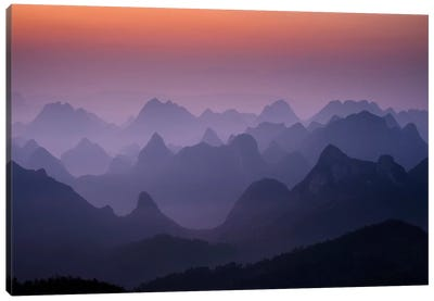 Enchanted China Canvas Art Print
