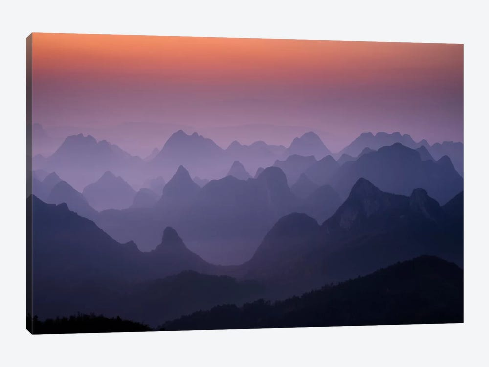 Enchanted China by Dan Ballard 1-piece Canvas Wall Art