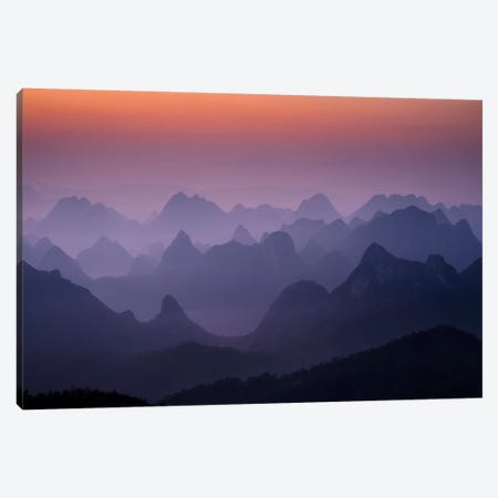Enchanted China Canvas Print #11537} by Dan Ballard Canvas Art