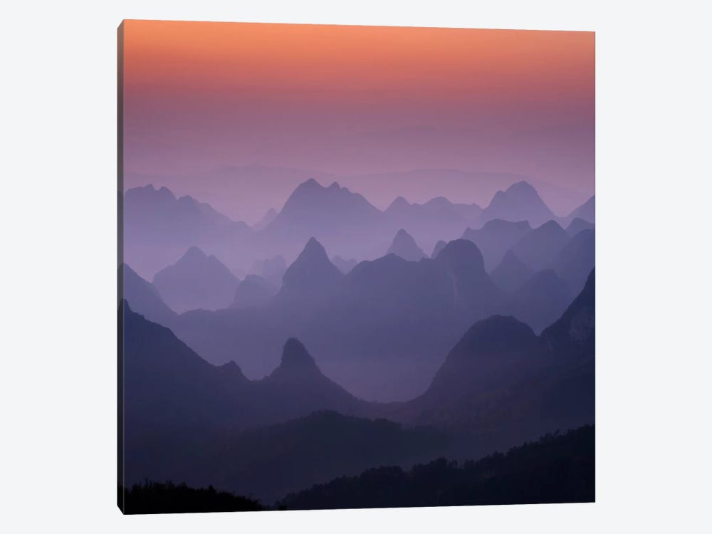 Enchanted China #2 by Dan Ballard 1-piece Canvas Art