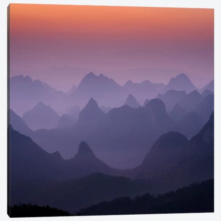 Enchanted China #2 Canvas Print #11537B} by Dan Ballard Canvas Artwork