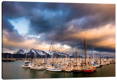 Alaska Harbor Canvas Print #11538