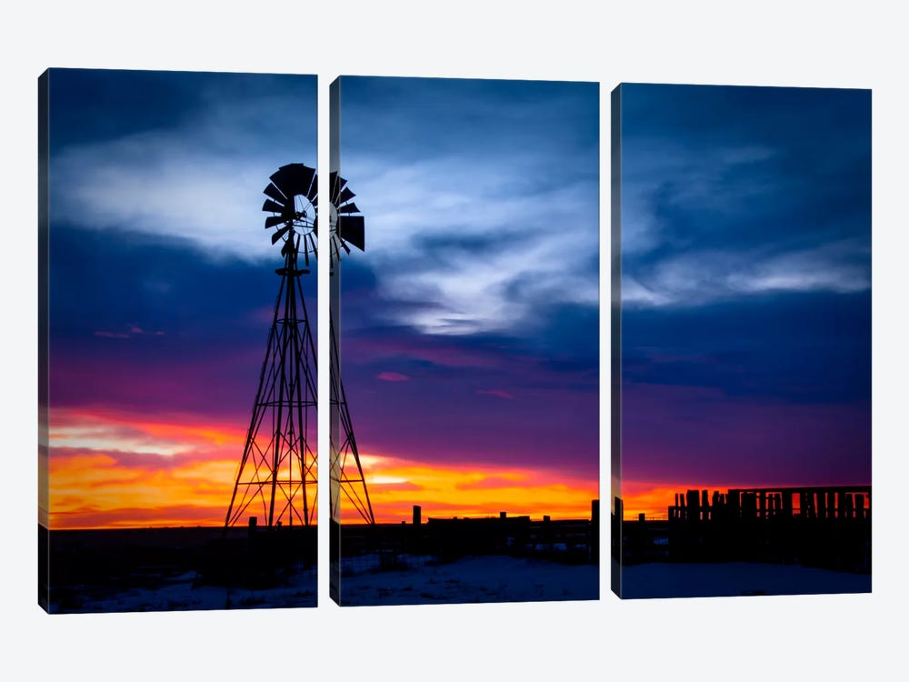 Fade to Light 3-piece Canvas Wall Art