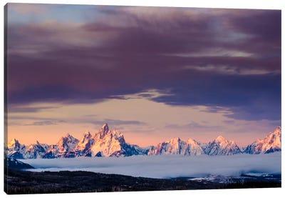 Above the Tetons Canvas Print #11540