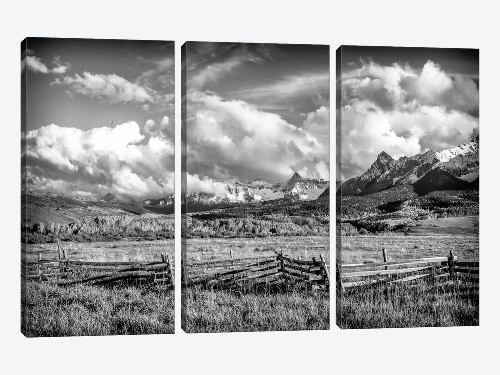 Colorado Fields by Dan Ballard 3-piece Canvas Print