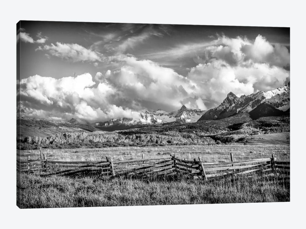 Colorado Fields by Dan Ballard 1-piece Canvas Art Print