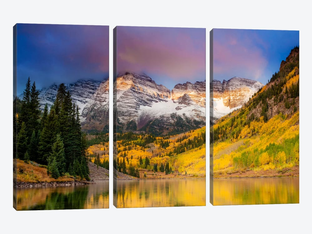 Colors of Colorado by Dan Ballard 3-piece Canvas Wall Art